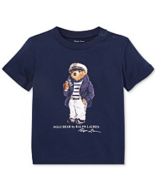 Polo Ralph Lauren Baby Boys Bear Cotton T-Shirt
