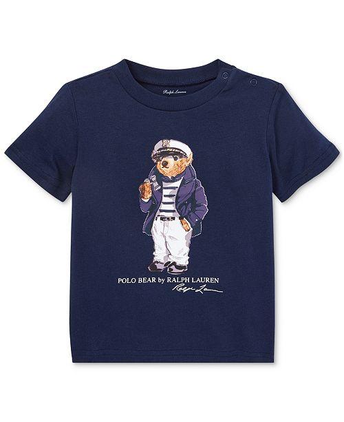 Polo Ralph Lauren Baby Boys Bear Cotton T-Shirt