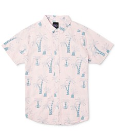 RVCA Men's Liu-Wong Palms Graphic Shirt