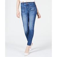 OAT High-Rise Sailor-Pocket Skinny Jeans Deals