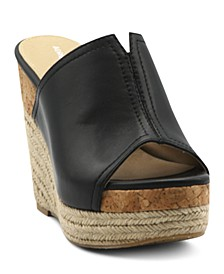 Cherli Platform Wedge Slide