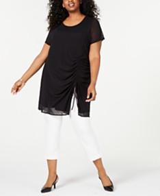 Plus Size Tunic Tops: Shop Plus Size Tunic Tops - Macy\'s
