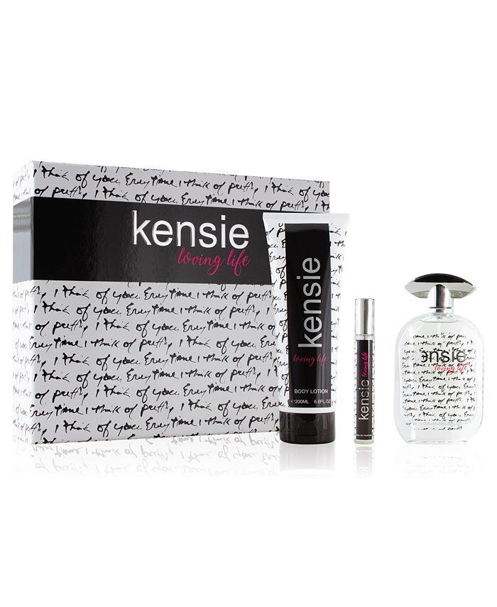 kensie - 3-Pc. Loving Life Gift Set