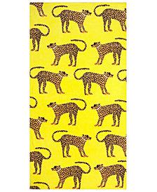 Bardwil Glam Cheetah Beach Towel