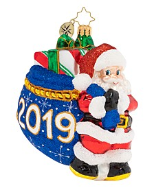 Christopher Radko Santa's 2019 Delivery!