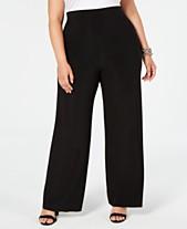 1d1f7852e4 Buy Plus Size Wide Leg Pants: Shop Buy Plus Size Wide Leg Pants - Macy's