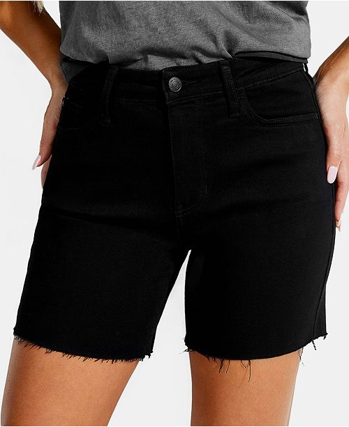 GUESS 1981 Midi Denim Shorts