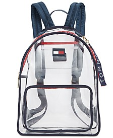 Tommy Hilfiger Kala Clear Backpack