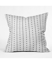 Holli Zollinger French Linen Tribal Stripe Throw Pillow