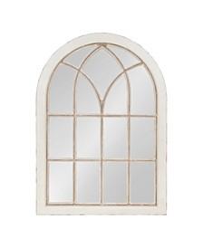 Nikoletta Large Windowpane Arch Mirror