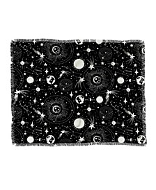 Heather Dutton Solar System Woven Throw Blanket