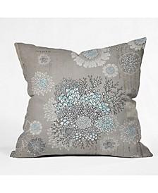 Iveta Abolina French Blue Throw Pillow