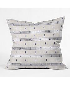 Holli Zollinger French Linen Stripe Throw Pillow
