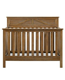Baby Relax Scarlet 5-in-1 Convertible Crib with Toddler Rail