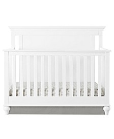 Hess 4-in-1 Convertible Crib with Guard Rail