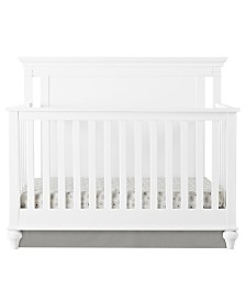 Baby Relax Hess 4-in-1 Convertible Crib with Guard Rail