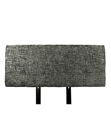 Ali Button Tufted Upholstered California King Headboard