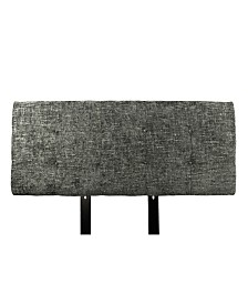 MJL Furniture Designs Ali Button Tufted Upholstered California King Headboard