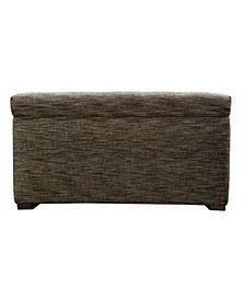 Angela Fabric Upholstered Storage Trunk
