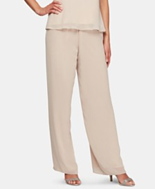 Alex Evenings Chiffon Pants