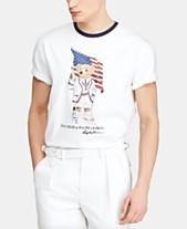 2616de45 Polo Ralph Lauren Men's Big & Tall Classic-Fit Polo Bear T-Shirt