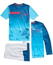 500f04a5 Under Armour Big Boys Sun Armour T-Shirt, Long-Sleeve T-Shirt