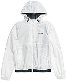 Men's Park Rain Jacket with Magnetic Zipper