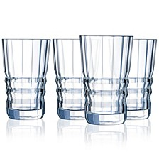 Cristal D' Arques Architecte Highball - Set of 4