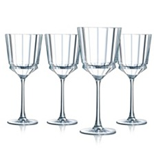 Cristal D' Arques Macassar Wine Glass - Set of 4