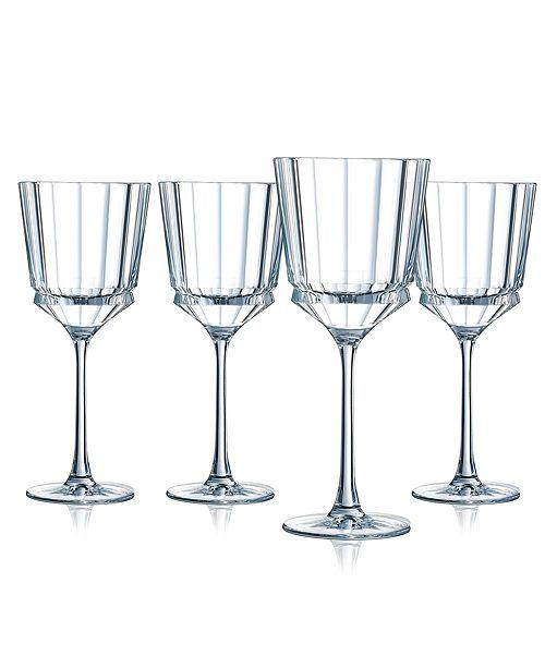 Cristal d'Arques Cristal D' Arques Macassar Wine Glass - Set of 4