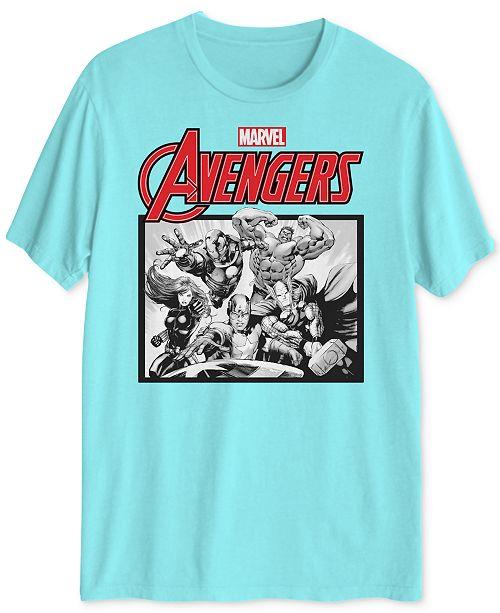 Hybrid Avengers Men's Graphic T-Shirt
