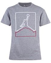 f49bdf68d27 Jordan Big Boys Cotton Glow-In-The-Dark T-Shirt