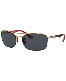 Ray-Ban Sunglasses, RB3617M 63