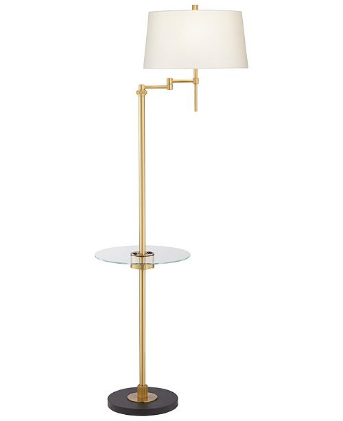 Pacific Coast Swing Floor Lamp with Tray