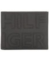 5328673f1711 Tommy Hilfiger Men's Braylon Logo Slimfold RFID Leather Wallet