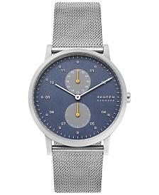 Skagen Men's Kristoffer Stainless Steel Mesh Bracelet Watch 42mm