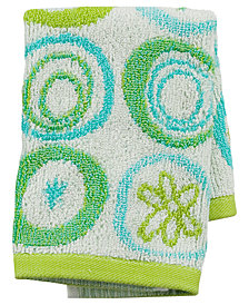 "Creative Bath Towels, All That Jazz 13"" x 13"" Washcloth"
