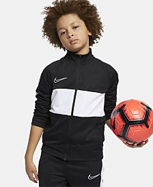 Nike Big Boys Dri-FIT Academy Colorblocked I96 Soccer Jacket