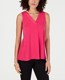 Alfani Petite V-Neck Tank Top, Created for Macy's