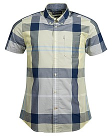 Men's Modern Plaid Shirt