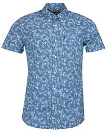 Men's Printed Chambray Shirt