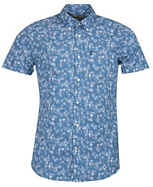 Barbour Men's Printed Chambray Shirt