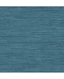 "Sea Grass Faux Grasscloth Wallpaper - 396"" x 20.5"" x 0.025"""