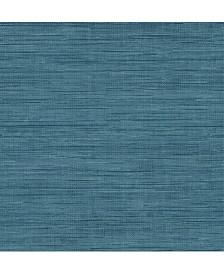 "Brewster Home Fashions Sea Grass Faux Grasscloth Wallpaper - 396"" x 20.5"" x 0.025"""