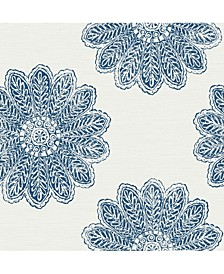 "Sol Medallion Wallpaper - 396"" x 20.5"" x 0.025"""