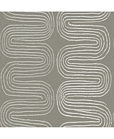 "Zephyr Abstract Stripe Wallpaper - 396"" x 20.5"" x 0.025"""