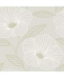 "Mythic Floral Wallpaper - 396"" x 20.5"" x 0.025"""