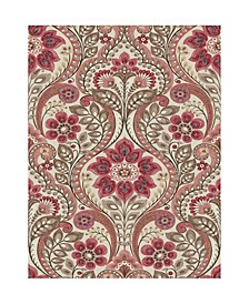 "Night Bloom Damask Wallpaper - 396"" x 20.5"" x 0.025"""