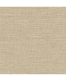 "Brewster Home Fashions Exhale Faux Grasscloth Wallpaper - 396"" x 20.5"" x 0.025"""