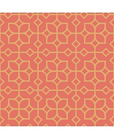 "Maze Tile Wallpaper - 396"" x 20.5"" x 0.025"""